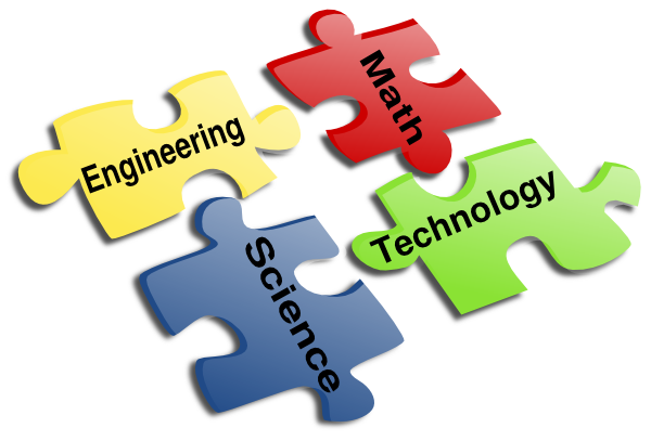 Stem Science Technology Engineering Math Clip Art