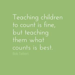 Teacher what counts
