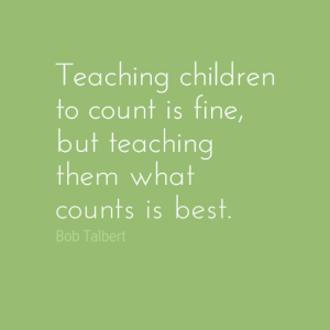 Teacher what counts