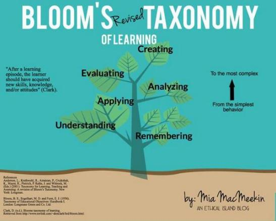 Bloom's Taxonomy 2.0
