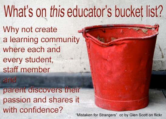 What's on Your Educator's Bucket List?