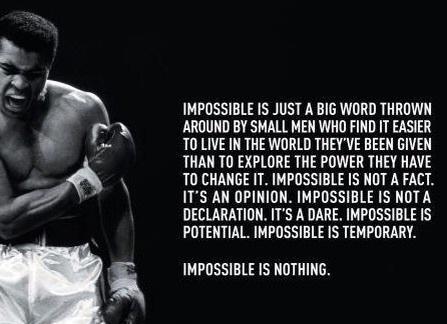 ali impossible