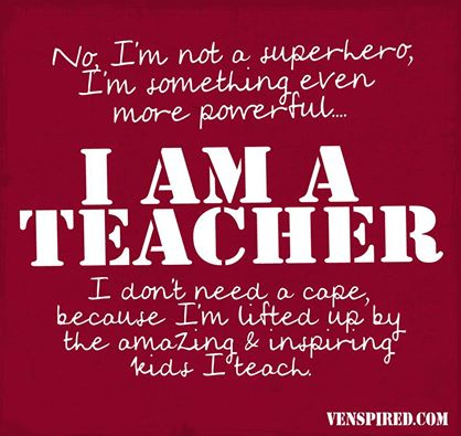 venspired teacher